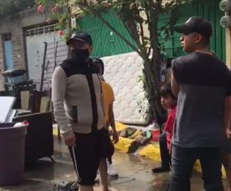Familias afectadas por las lluvias en Ixtapaluca buscan refugio para dormir esta noche