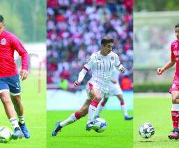 Chivas Toluca jugadores playeras