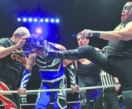 Rey Bucanero Shocker CMLL Lucha Libre arena Coliseo