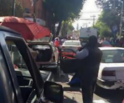 Tamalero pistola mata extorsionista Madgalena Contreras CDMX