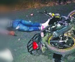 familia moto mueren choque padre hijo valle de bravo méxico