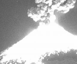 Popocatépetl Erupción Volcán Puebla