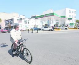 Toluca, disminuye trafico, ciclistas, crisis huachicolera,