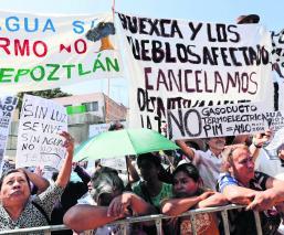 AMLO Termoeléctrica Morelos Manifestantes