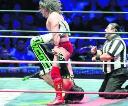 Lucha Libre CMLL Niebla Roja el Terrible campeón universal cinturón universal del CMLL