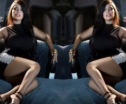 Suzy Cortez tanga extrema
