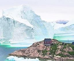 Iceberg roban agua productora de vodka Canadá