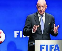 Presidente FIFA Mundial Qatar 2022