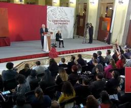 ANDRES MANUEL LOPEZ OBRADOR PASTA DE CONCHOS GUARDIA NACIONAL