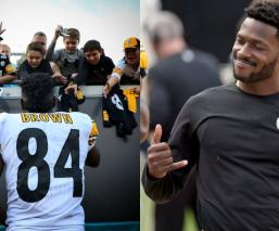 Antonio Brown se despide de los Acereros de Pittsburgh