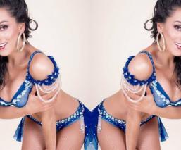 Ivonne Montero actriz topless pechos fotografía instagram censura