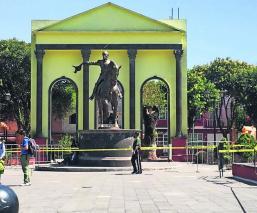 Estado de México dejan sin espacio vendedores ambulantes por restauraciones parque Simón Bolívar