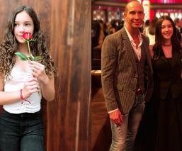 Hija Andrea Legarreta cover Ariana Grande Mía Rubín