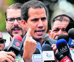 Juan Guaidó manejos fondos gobierno Venezuela