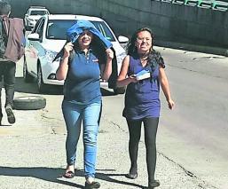 Ola de calor invernal Toluca Edoméx