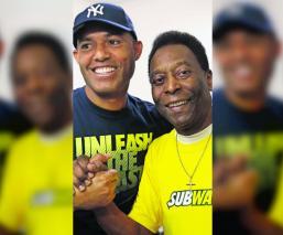 Mariano Rivera confesó que de niño quiso ser futbolista admiración a Edson Arantes Pelé