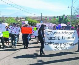 La Asociación Cívica Morelense Gustavo Salgado Derechos Humanos exige justicia Samir Flores Soberanes