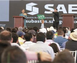 Vehículo Peña Nieto subasta Santa Lucía