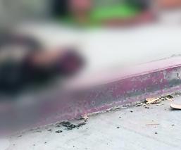 Tiran cadáver descuartizado y le prenden fuego al torso, en Zacatepec