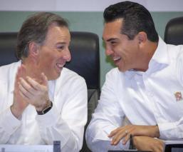 Alejandro Moreno Dirigencia del PRI Gobernador de Campeche José Antonio Meade