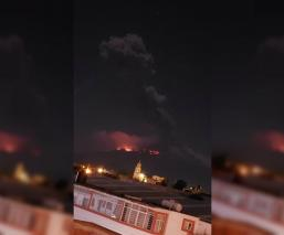 Erupción volcán Popocatépetl pánico