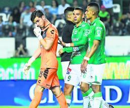 Sebastián Jurado caída Veracruz ante León