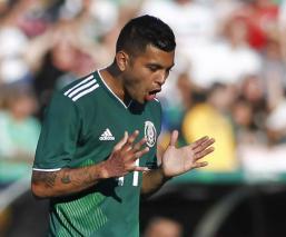 """El """"Tecatito"""" Corona causa baja de la Selección Mexicana"""