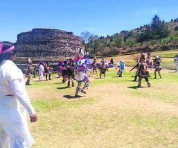 Rituales Equinoccio de Primavera Zonas arqueológicas Edoméx