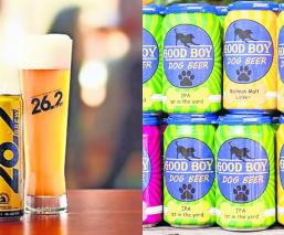 crean cerveza para deportistas y perros