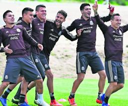 Entrenamiento Selección Nacional Héctor Moreno Qatar 2022
