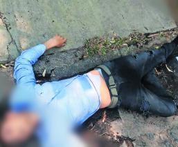 Abandonan cuerpo un hombre colombiano