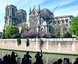 mapa 3D Catedral de Notre Dame