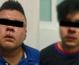 Capturan a dos presuntos asaltantes de transporte público en Ecatepec