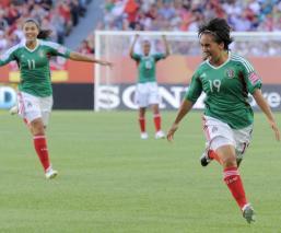 Gol de Mónica Ocampo es uno de los mejores en los Mundiales Femeninos - Especial