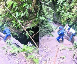 Muere ahogado Cae a barranca Charco de lodo Morelos