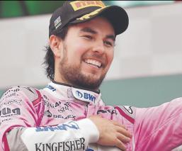 'Checo' Pérez se codea con los mejores pagados en F1