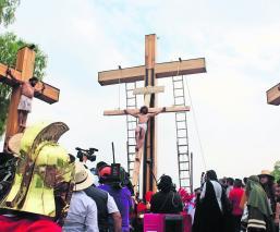Así se vivió la representación de la Pasión de Cristo en Iztapalapa