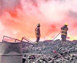 Incendios y transportistas Contaminación de aire Toluca