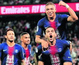 Triplete de Mbappé Octavo títulos Rey de Francia Paris Saint Germain