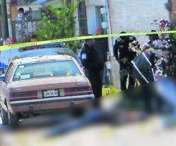 Muere hombre rafagueado Pareja escapa Edoméx Toluca