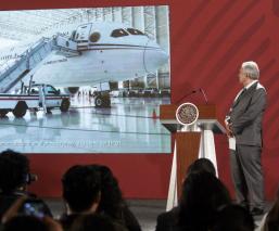 amlo feria eroespacial santa lucía venta aviones helicópteros del gobierno federal