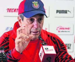 Tomás Boy asegura Chivas le ganará