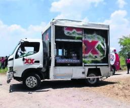 Robo de camión Camión de cervezas Persecución y balacera Edoméx