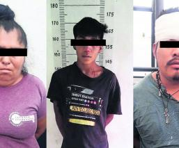 CASI LINCHAN LADRONES DELINCUENTES ROBO YAUTEPEC POLICÍAS SALVAN