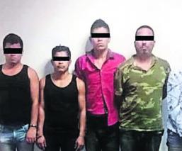 Atrapan 5 narcotraficantes Morelos