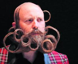 Barbas sorprendente Torneo Mundial de Barbas y Bigotes