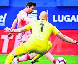 Leo Messi igualó a Telmo Zarra