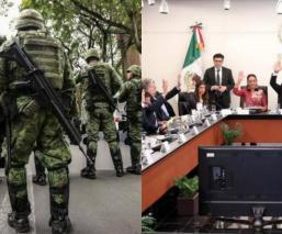 senado de la república aprueban leyes guardia nacional