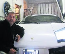 Argentina Arma su propio auto Lamborghini casero