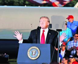 Donald Trump Advierte a México Inmigración